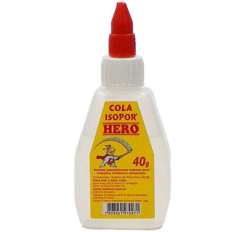 Cola Isopor Hero 40g