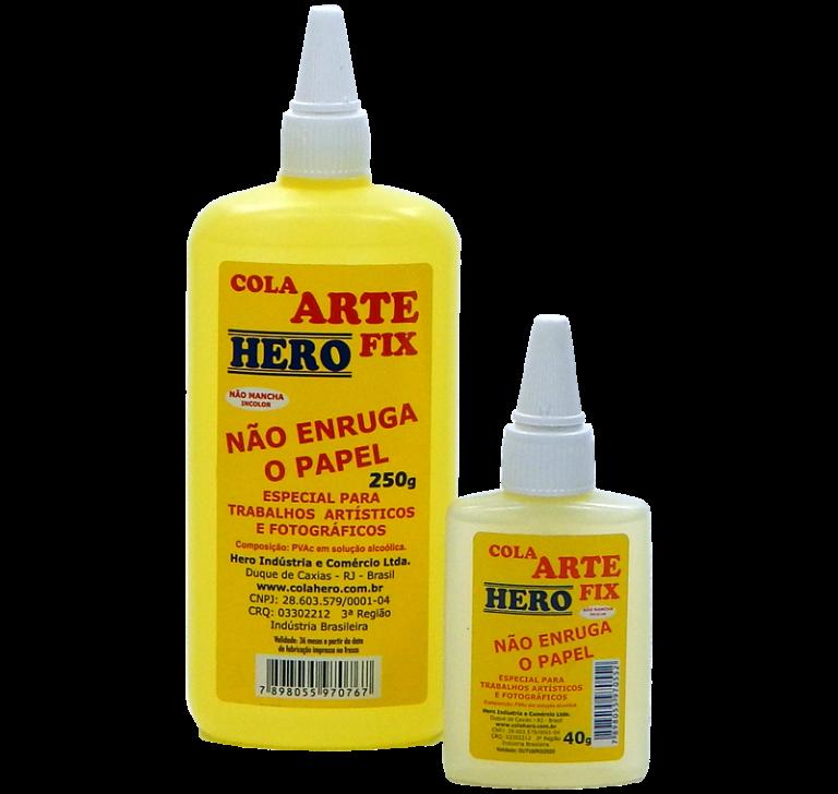 Linha Cola Arte Fix Hero